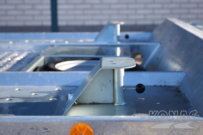 Aanrijbeveiliging Ifor Williams CT177 autotransporter