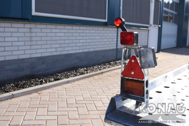 Ifor Williams CT177 speciale verlichting