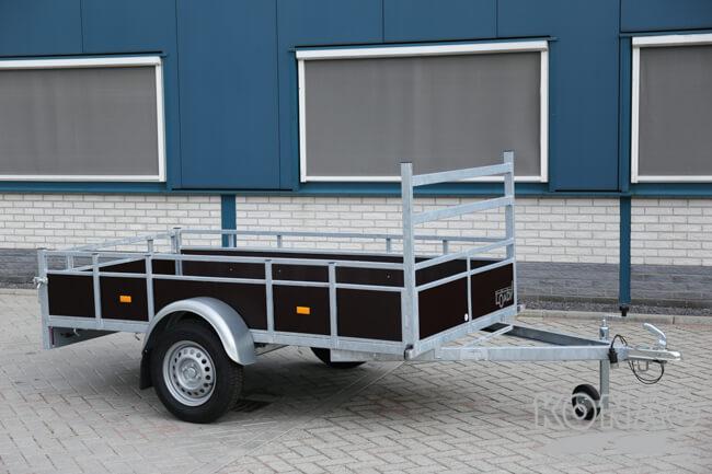 Loady enkelasser bakaanhangwagen