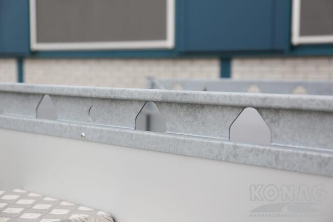 Proline enkelas bakwagen aluminium
