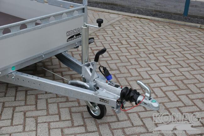 Proline enkelas bakwagen aluminium 250x130 dissel
