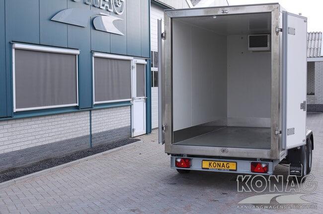 Konag vrieswagen 300x150x190 ruime laadvloer