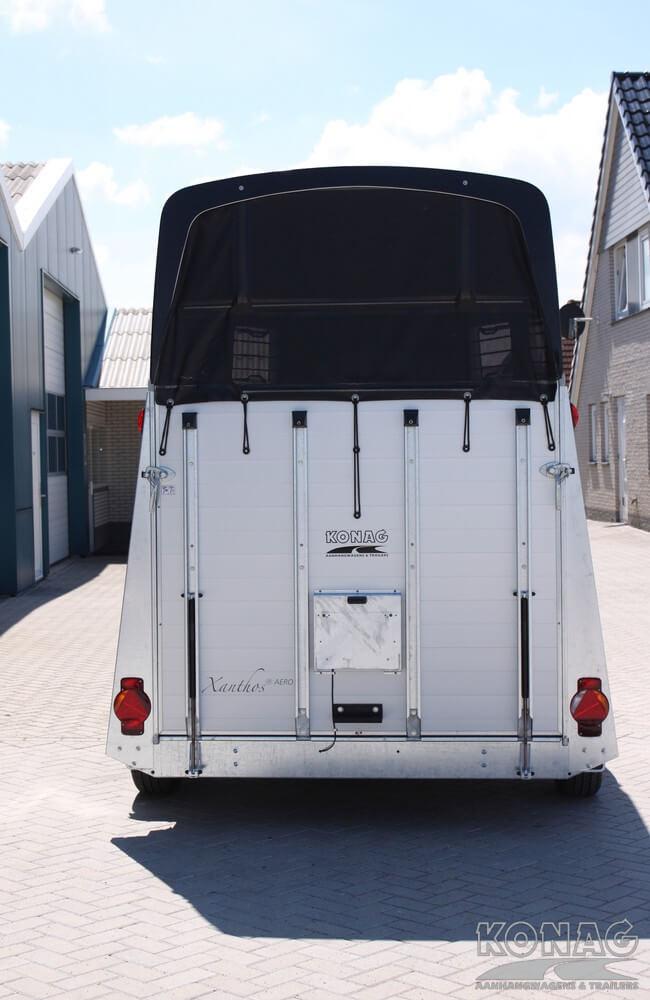 Humbaur Xanthos Aero 2 paardstrailer