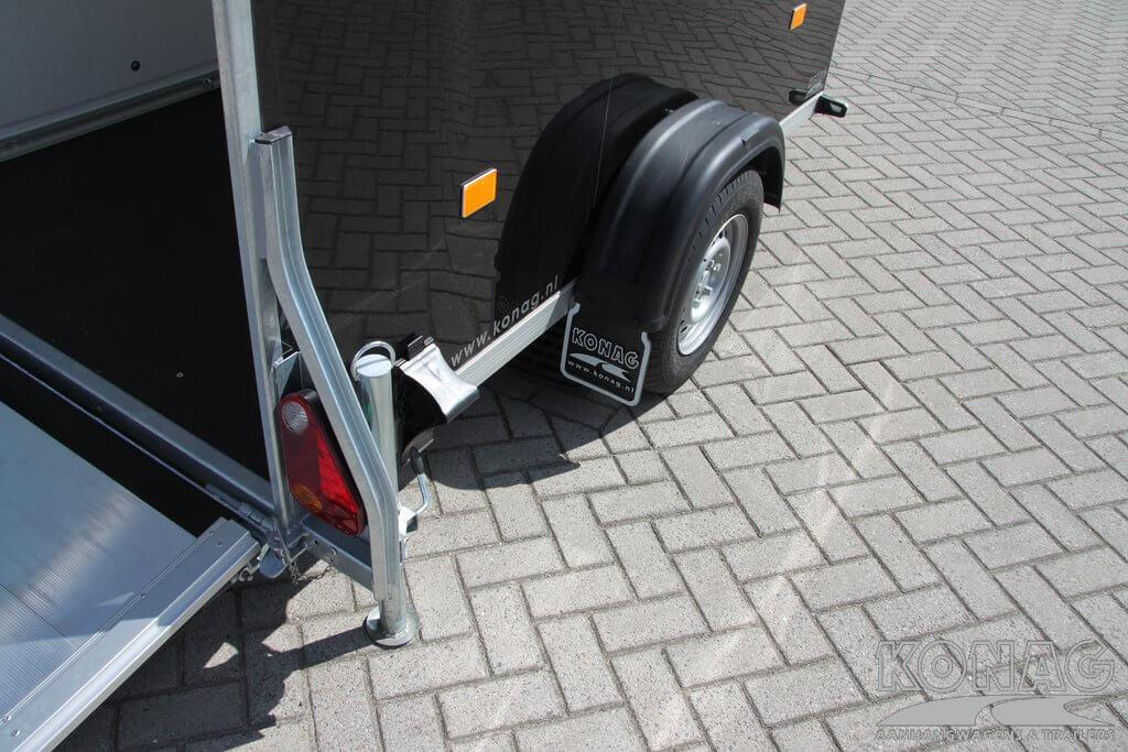 Easyline poly bagagewagen verlichting