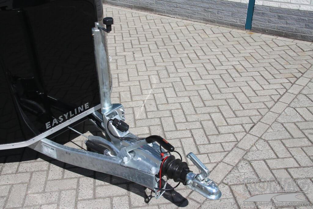 Oplooprem van bagagewagen 1300 kg