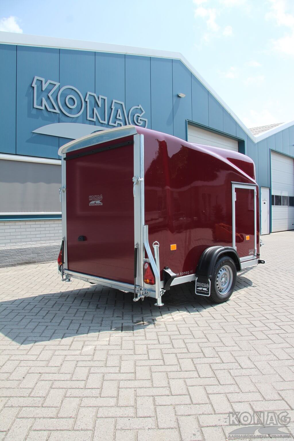 Easyline poly plus motortrailer deur- klep combinatie