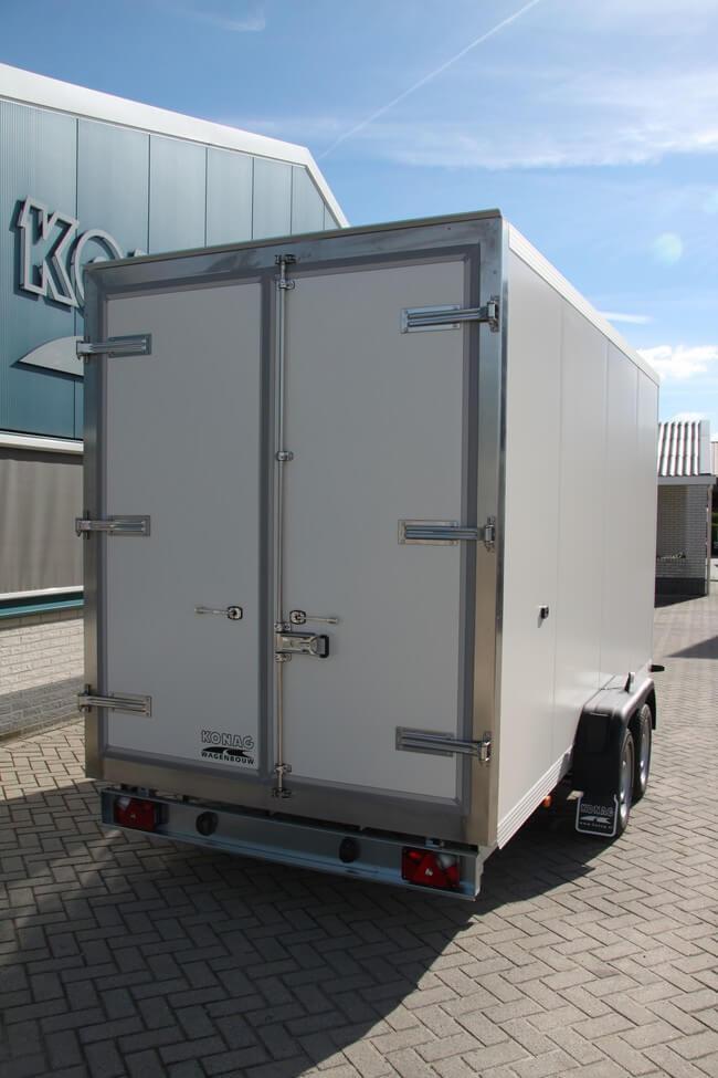 Vriesaanhangwagen Konag tandemas 425x175x210 achterzijde
