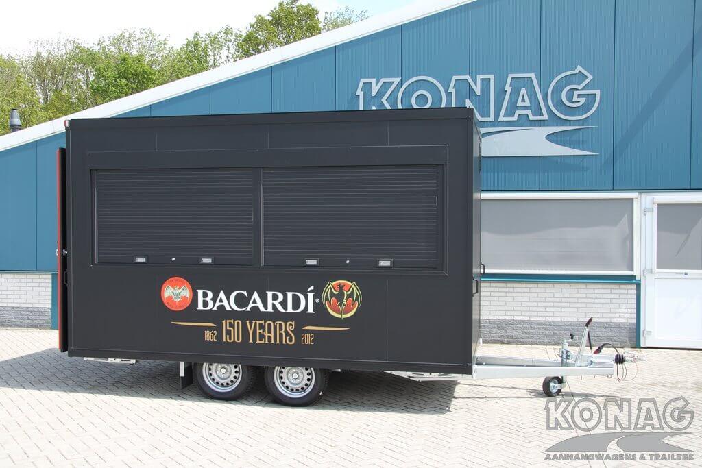 Verkoop rolluiken in Konag verkoopwagen