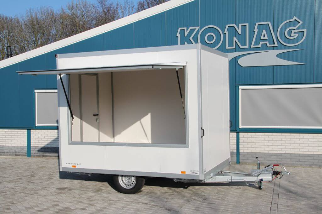 Konag casco marktverkoopwagen 300 cm