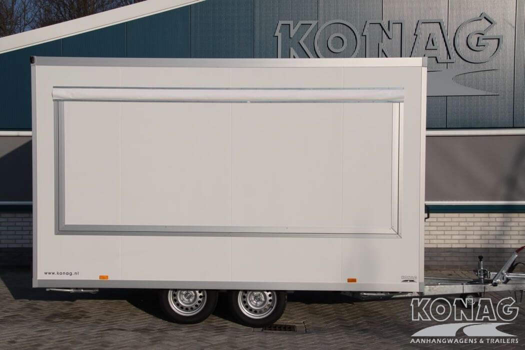 Konag casco marktverkoopwagen 400 cm