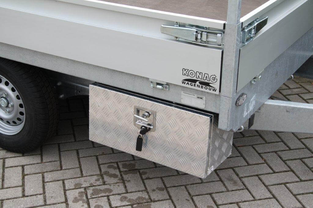Disselbak voor aanhangwagen