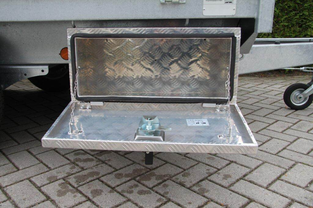 Aluminium gereedschapkist Proline voor aanhangwagen