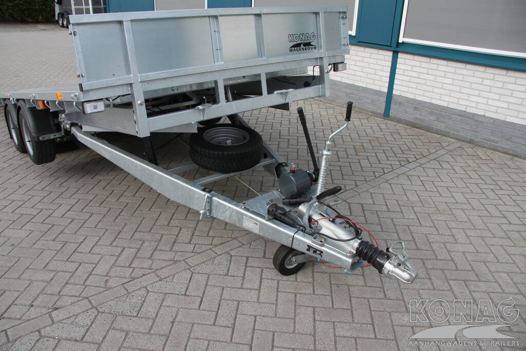 Ifor Williams CT166G machinetransporter, dissel