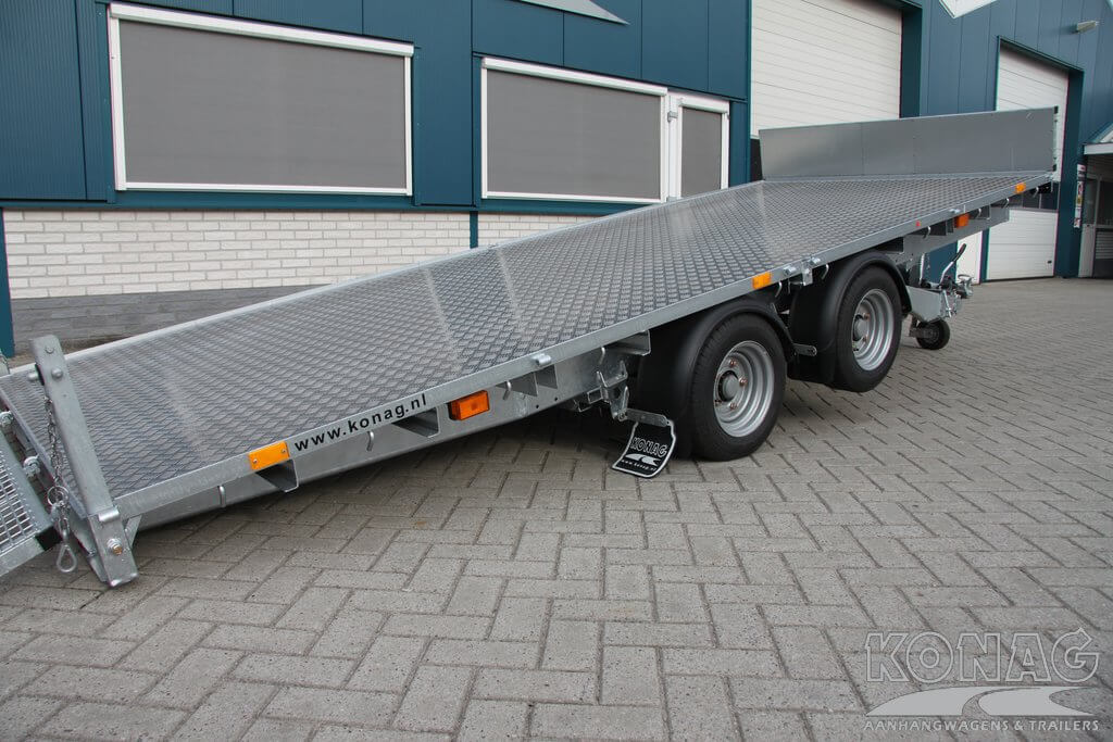 Ifor Williams CT166G machinetransporter, details