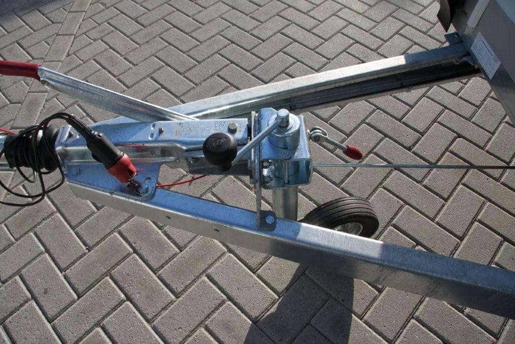 Konag koelaanhangwagen solide chassis
