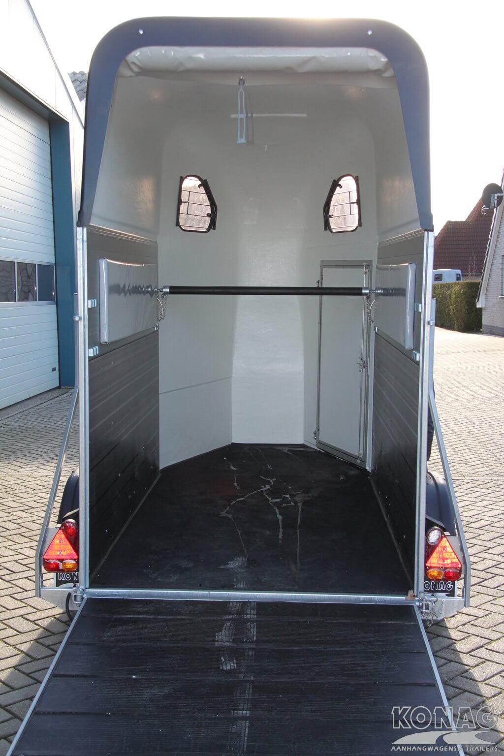Cheval Liberte aluminium 1,5 paardstrailer instap