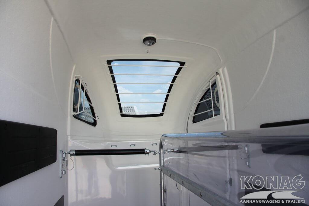 Bucker Careliner panoramadak voorzijde