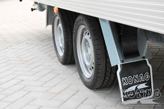 Konag Presentatiewagen wielkasten