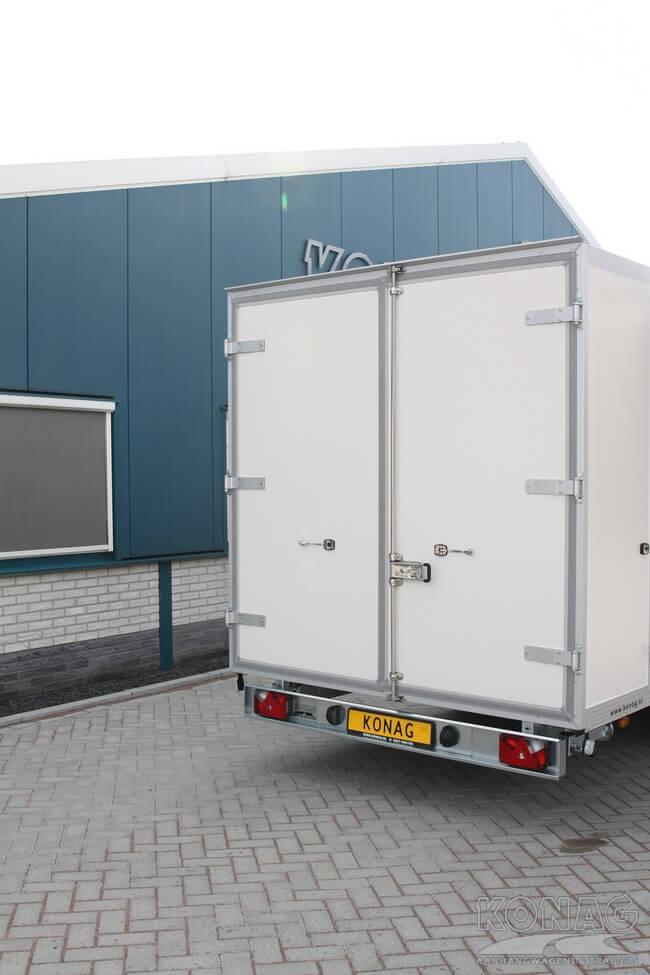 Konag Presentatiewagen met deuren aan de achterzijde