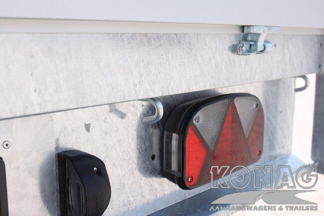 Proline plateauwagen 400x200 verlichting