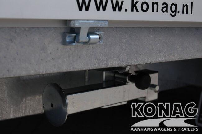 Proline plateauwagen 400x200 steunpoten