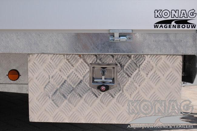 Proline plateauwagen 400x200 gereedschapskist