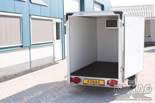 Easyline koelaanhangwagen 249x147x150 ruime instap