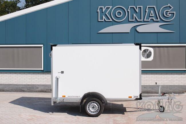 Easyline koelaanhangwagen 249x147x150 laag model