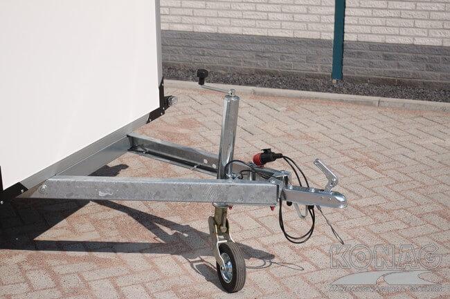 Easyline koelaanhangwagen 249x147x150 v-dissel