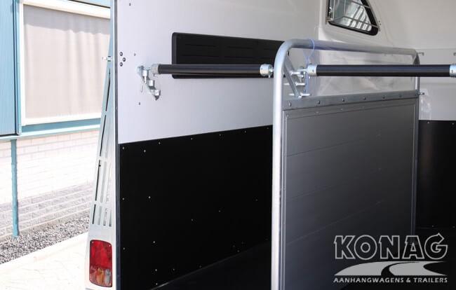 Careliner aluminium tussenschot en trapbescherming