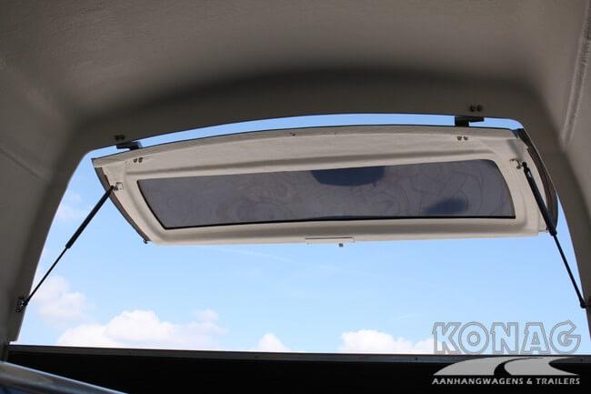 Bucker Careliner panorama achterklep
