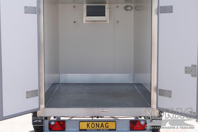 Konag vriesaanhangwagen 255x150x160 vloercoating