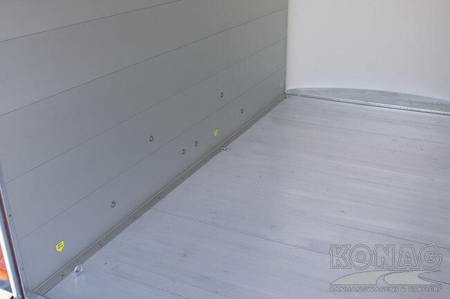 easyline poly xl aluminium bodem