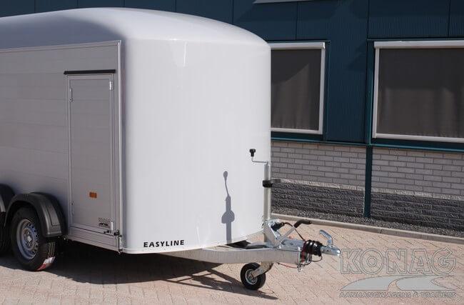 Polyester front van Easyline bagagewagen