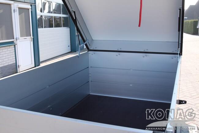 Bagagewagen Anssems binnenzijde GTB-750