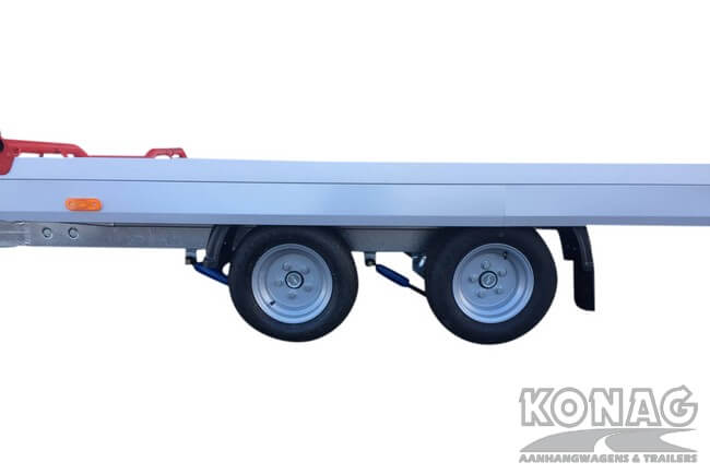 Proline autotransporter kantelbaar 450x209cm 2700kg dubbelas