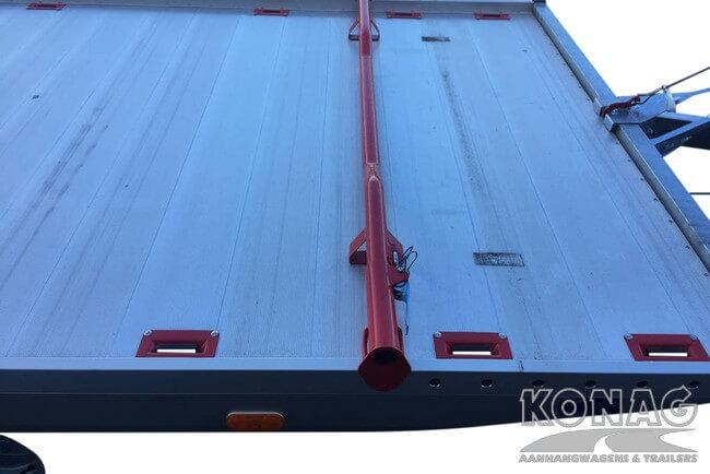 Proline autotransporter kantelbaar 450x209cm 2700kg vastzetsysteem