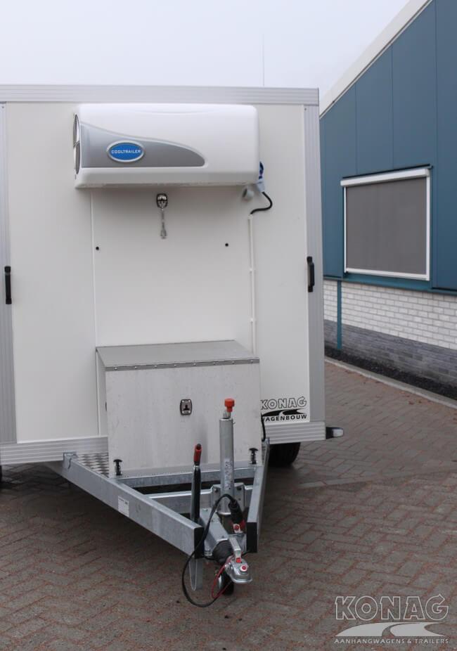 Vriesaanhangwagen met generator