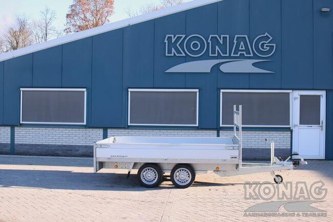 proline plateauwagen verlaagd 300x155 zijkant Konag Aanhangwagens