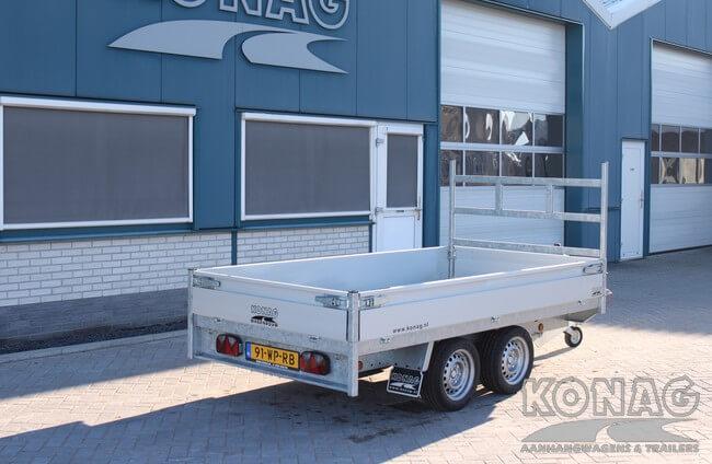 proline plateauwagen verlaagd 300x155 achterzijde Konag Aanhangwagens