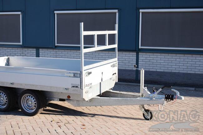 proline plateauwagen verlaagd 300x155 voorrek Konag Aanhangwagens
