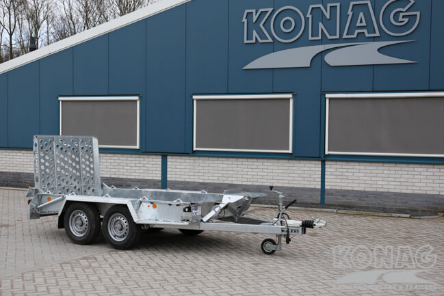 Ifor Williams GH94BT tandemas machinetransporter
