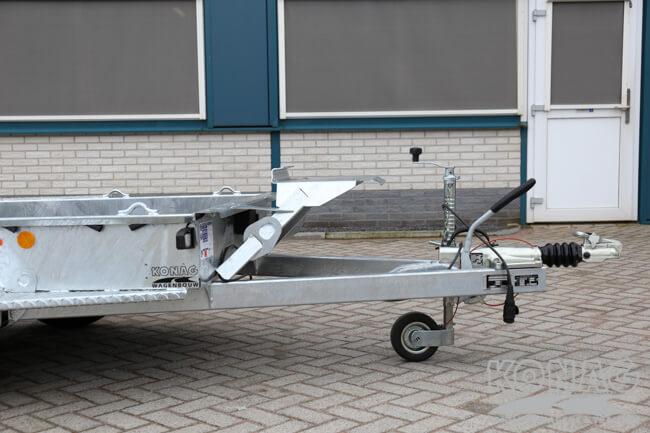 Ifor Williams GH94BT tandemas machinetransporter