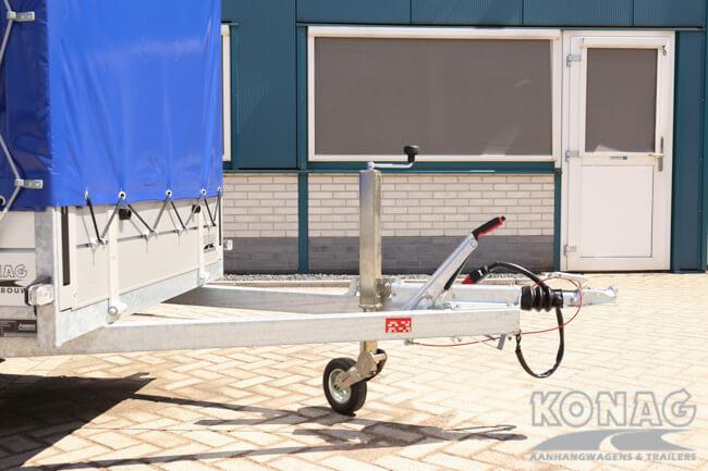 Anssems BSX bakaanhangwagen met huif