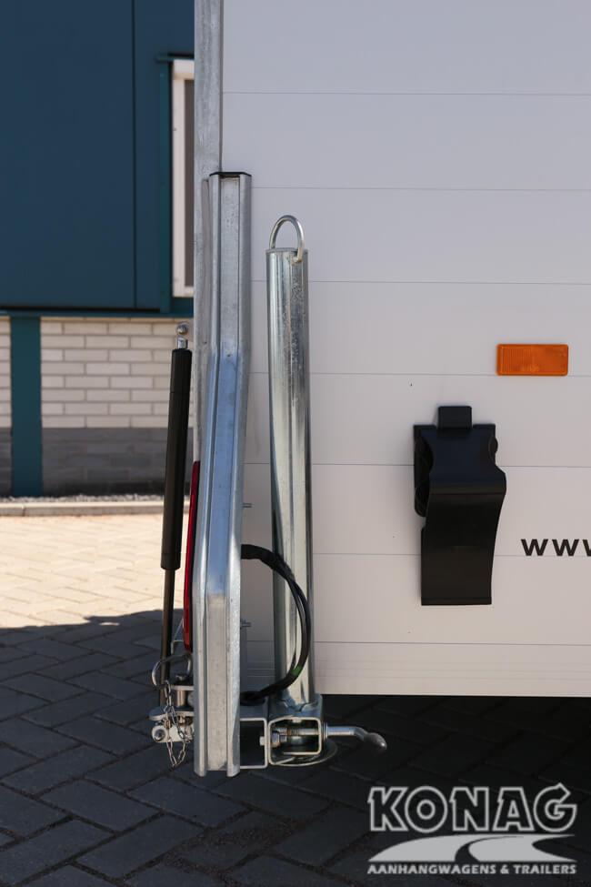 Steunpoten Easyline Poly XL enkelas aluminium uitvoering