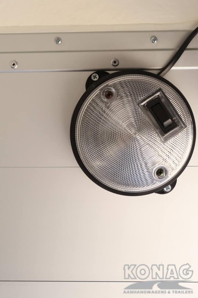 Verlichting Easyline Poly XL enkelas aluminium uitvoering