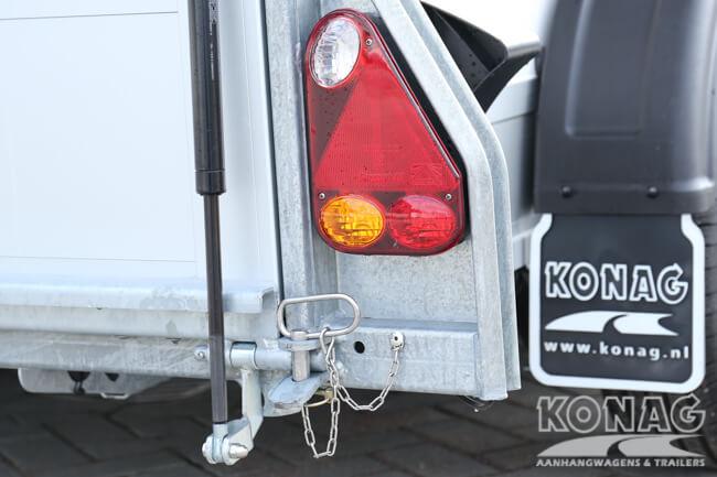 Easyline Poly XL gesloten aanhangwagen