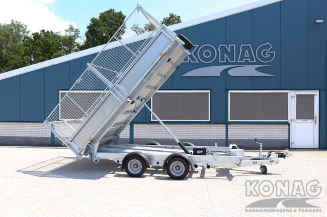 Ifor Williams TT3621 kiepaanhangwagen