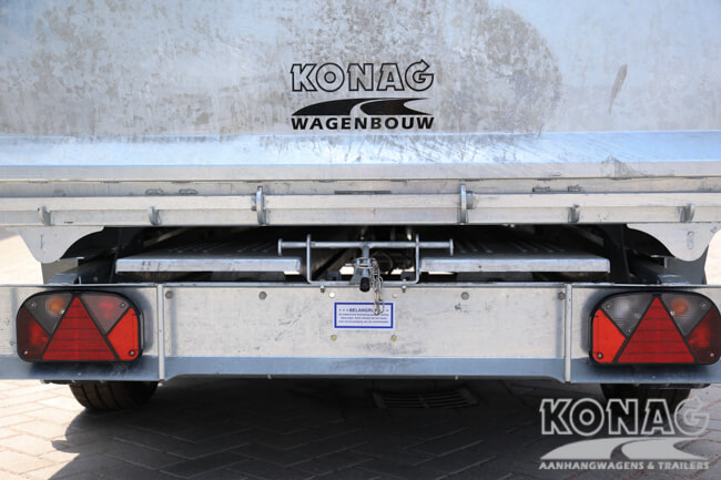 Ifor Williams TT3017 kiepaanhangwagen rijplaatslede