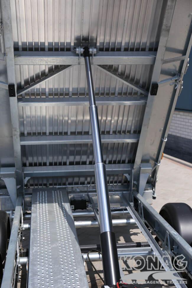 Ifor Williams TT3017 kiepaanhangwagen cilinder